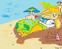 ruotsi suomi norja rannalla, mitä kävi?