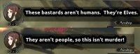 Se ei ole murha jos ne ovat haltioita