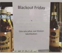 Blackout friday