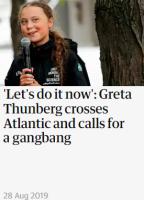 Gretalla on asiaa