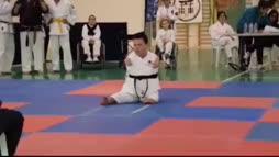 Musta vyö karatessa