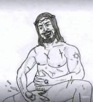 jeesus käellä