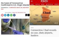 Virgin Islands vs. Chad