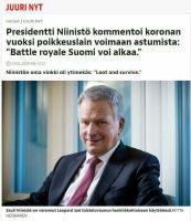 Niinistö kommentoi