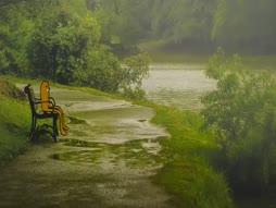 Joki virtaa, hän vain seuraa
