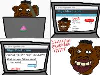 ghetto internet dating...