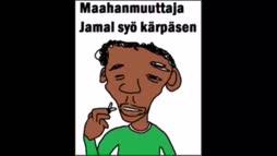 Jamal syö kärbä