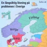 Ratkaisu Ruotsin ongelmiin.