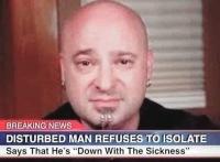 Disturbed Man