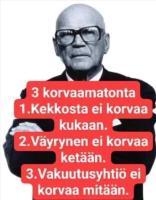 3 korvaamatonta
