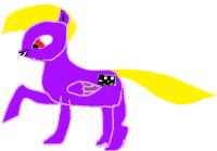 Mun poni fursoona :3