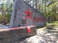 Kaatuneiden neuvostosotilaiden muistomerkki Hangossa.