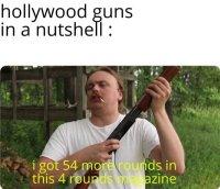 Clack-chink *reloads shotgun*