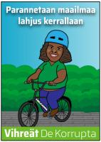 Kyllä kelpaa pyöräillä kelaan