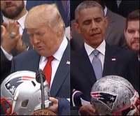 """""""Obaman kypärä on ihan likainen"""""""