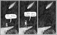 Hello Haley's comet
