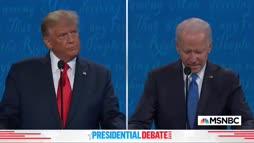 Biden servaa Trumpetin