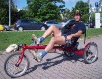 Kuva ajalta, jolloin sain kyseisen pyörän 2003