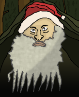 Rapupukki Joulunaamana