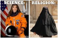 uskonto vs tiede