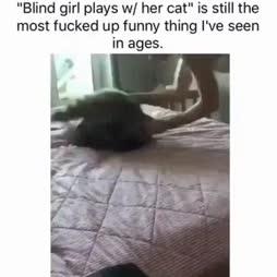 Sokea tyttö