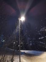 Valo illanhämärässä