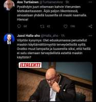 Turtiainen Vs Halla-Aho