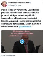 Poliisi Oulusta..