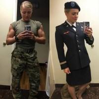 Militarytyttö