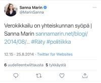 Taas Marinaa.