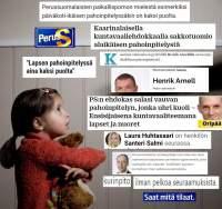 Turvallinen Suomi takaisin lapsille