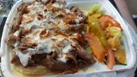 Kebab kermaperunoilla