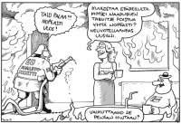 Poliittinen sarjakuva