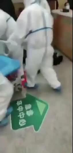 Tällasia videoita näytettiin yli vuosi sitten Wuhanista
